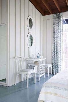 Master Bedroom, Sarah Richardson's Rental Cottage