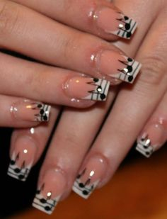 Nails inspired by music