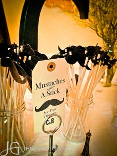 Mustaches on a stick Gala Themes, Carnival Decorations, Preschool Graduation, Western Parties, Cowboy Party, When I Get Married, Girls Time, Outdoor Parties, Wedding Details