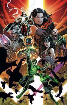 Justice league by jason Fabok