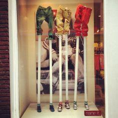 Etalage voor Deventer op stelten! #stils    www.stijlmijndag.nl