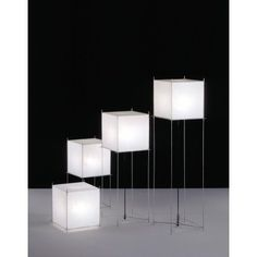 Series of the Lotek Lamp by Benno Premsela