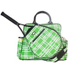 Slam Glam - Ame and Lulu Cricket Tennis Tour Tote Bag, $147.98 The newest addition to the Ame & Lulu tennis bag collection! #tennisbags #tennistotes #ameandlulu