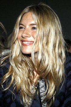 Sienna Miller hair: Boho chic