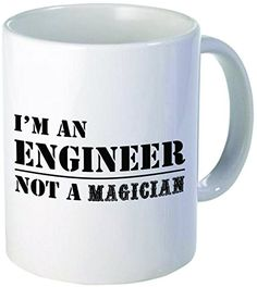 Im an Engineer not a magician  11OZ ceramic coffee mug  Best funny and inspirational gift >>> Want to know more, click on the image.