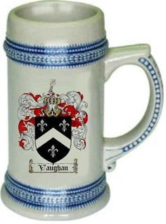 Vaughan Family Crest Stein ;p