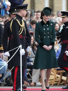 Kate Middleton's 2017 St. Patrick's Day Outfit Is More Regal Than Ever: Video | InStyle.com Lauren B Montana