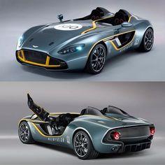 Aston Martin (@Aston Martin) celebrates its 100th anniversary in style with the Aston Martin CC100 Speedster