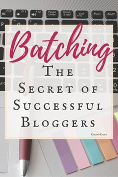 Batching content makes you more productive and creates more value in each of your blog posts! This tutorial walks you through 6 steps to batch blogging.