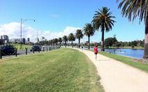 Beautiful Albert Park Lake