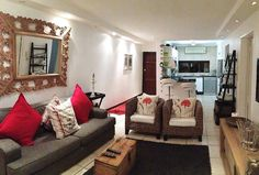 61 The Shades in Umhlanga Rocks village, a lovely 2 bedroom apartment on the ground floor that sleeps 4. See More: http://www.where2stay-southafrica.com/Accommodation/Umhlanga/61_The_Shades #selfcateringaccommodation #southafrica