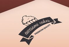Free - Awesome Cakes Logo - Download free - Free for Commercial Use