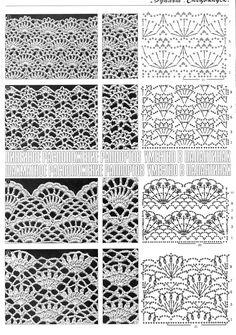 Watch This Video Beauteous Finished Make Crochet Look Like Knitting (the Waistcoat Stitch) Ideas. Amazing Make Crochet Look Like Knitting (the Waistcoat Stitch) Ideas. Filet Crochet, Crochet Stitches Chart, Crochet Motifs, Crochet Diagram, Thread Crochet, Irish Crochet, Knitting Stitches, Crochet Lace, Crochet Patterns