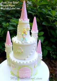 My cake school. com castle cake