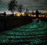 Twinkling Solar Bike Path Inspired by Vincent van Gogh's Starry Night Opens in the Netherlands | Inhabitat - Sustainable Design Innovation, Eco Architecture, Green Building