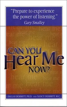 Can You Hear Me Now? by Dallas Demmitt PhD, http://www.amazon.com/dp/0781438969/ref=cm_sw_r_pi_dp_NQU8rb08VVT70