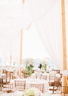 Sperry Tent, rentals by Exquisite Events, Newport | Boston Wedding Photographer | Lisa Rigby