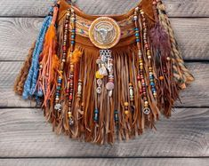 Boho inspired, eclectic pieces of wearable art. Fringe Handbags, Fringe Bags, Christmas Bags, Christmas Gifts For Her, Hippie Boho, Bohemian Bag, Boho Bags, Leather Gifts, Wearable Art