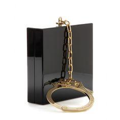 Kinky Box Clutch ∫ Charlotte Olympia super qd tu sors pr ne pas perdre ou oublier son sac!!! Mdr