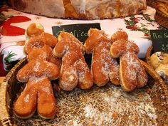 gingerbread men raised donuts!
