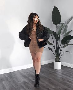 Casual Fall Outfits, Winter Fashion Outfits, Girly Outfits, Classy Outfits, Look Fashion, Stylish Outfits, Stylish Girl, Tumblr Outfits, Classic Fashion