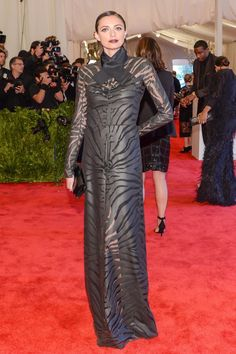 Kathryn Neale Shaffer in Carven at the Met Gala
