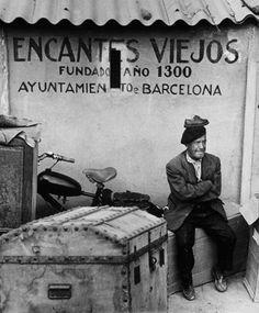 Encants Vells. Plaza de les Glòries. Barcelona, 1963