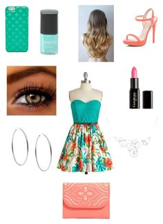 Date #1 by bunbunbunny95209 on Polyvore featuring polyvore, fashion, style, River Island, Vera Bradley, FOSSIL, Michael Kors, Gorgeous Cosmetics, Torrid and clothing