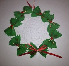wreath My First Grade Backpack: Christmas