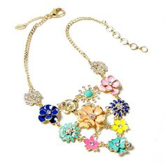 THE MODERN WAY OF SHOPPING: Amritasingh.com - Amaranath Necklace Flower neckla...