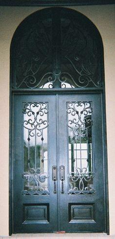 Forge Iron Designs mediterranean front doors