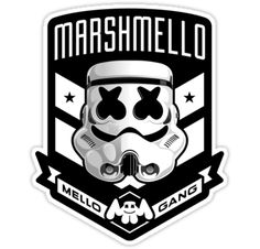 marshmello – Mellogang stormtrooper • Also buy this artwork on stickers, apparel, phone cases et more.