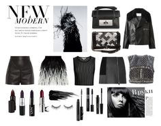 """""""The dark side"""" by micalkalimi ❤ liked on Polyvore featuring Magdalena, Balenciaga, Alice + Olivia, Jonathan Simkhai, Chanel, Alexander Wang, Marc Jacobs, Jamie Wei Huang, Alberta Ferretti and Serge Lutens"""