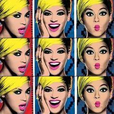 Beyonce Pepsi Pop art