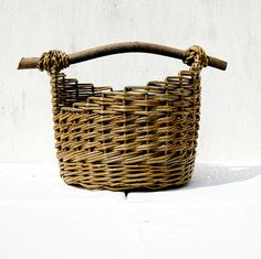 Willow basket by Jane Nielsen, via Flickr