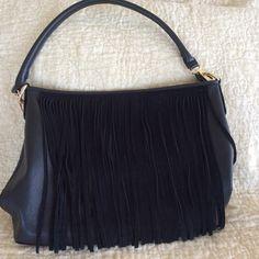 Vegan Leather Fringe Bag! Trendy Fringe Bag. Bags Shoulder Bags