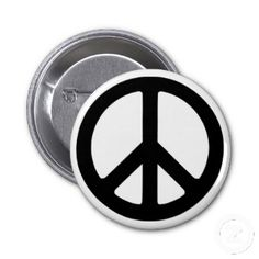 Popular Cool Pin Buttons. classic peace sign Cool Pins, Peace Signs, Symbols, Buttons, Cool Stuff, 1960s, Popular, Google Search, Awesome