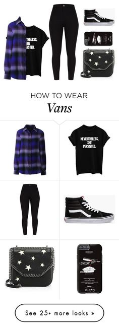 """Inspired by real life"" by theater-potter-dance-warriors on Polyvore featuring Lands' End, Vans and STELLA McCARTNEY"