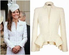 Catherine, Duchess of Cambridge in Alexander McQueen | MYROYALS  HOLLYWOOD FASHİON
