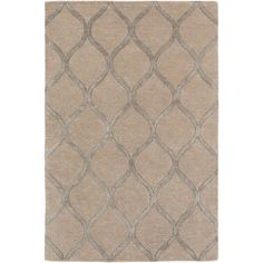 Found it at Joss & Main - Cassidy Beige Geometric Wool Area Rug