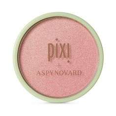 Pixi By Petra + Aspynovard Glow-y Powder .36oz ($16) ❤ liked on Polyvore featuring beauty products, makeup, face makeup, face powder, beauty and light pastel