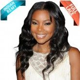 Indian Remy Full Lace Wig Super Star Bodywave Inspired by Gabby