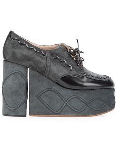 VIVIENNE WESTWOOD 'Towering Acorn' creeper. #viviennewestwood #shoes #creeper