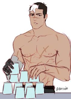 """""""shiro the cup stacker"""""""