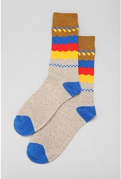 Fun Patterned socks from Urban Outfitters