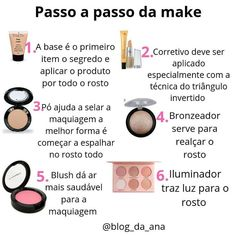 Boa noite amores😍 Hoje vim falar do primeiro passo que você precisar fazer p... Glam Makeup, Makeup Art, Makeup Tips, Hair Makeup, Make Up Dupes, My Beauty, Beauty Care, Beauty Hacks, Pretty Hurts
