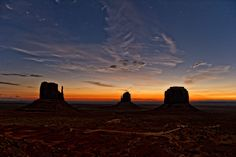Monument Valley - Just Before The Dawn - Image by Raymond Jabola, 500px