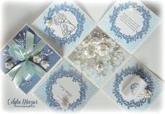 Nots and roses wedding box - Scrapbook.com