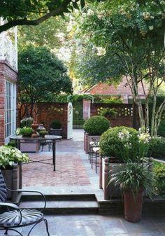 Great stone patio