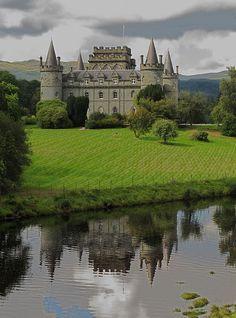 Inveraray Castle Argyll, Scotland Para ampliar la información de castillos…